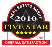 Real Estate Agent 2010 Fivestar Overall Satisfaction